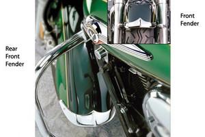 National Cycle Front Fender Tip/Trim for Nomad 1500 '98-04 & Nomad 1600 '05-08 (Front Fender)