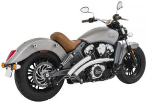 Freedom Performance Exhaust Radical Radius System for Indian Scout Models '14-Up (Select Finish)