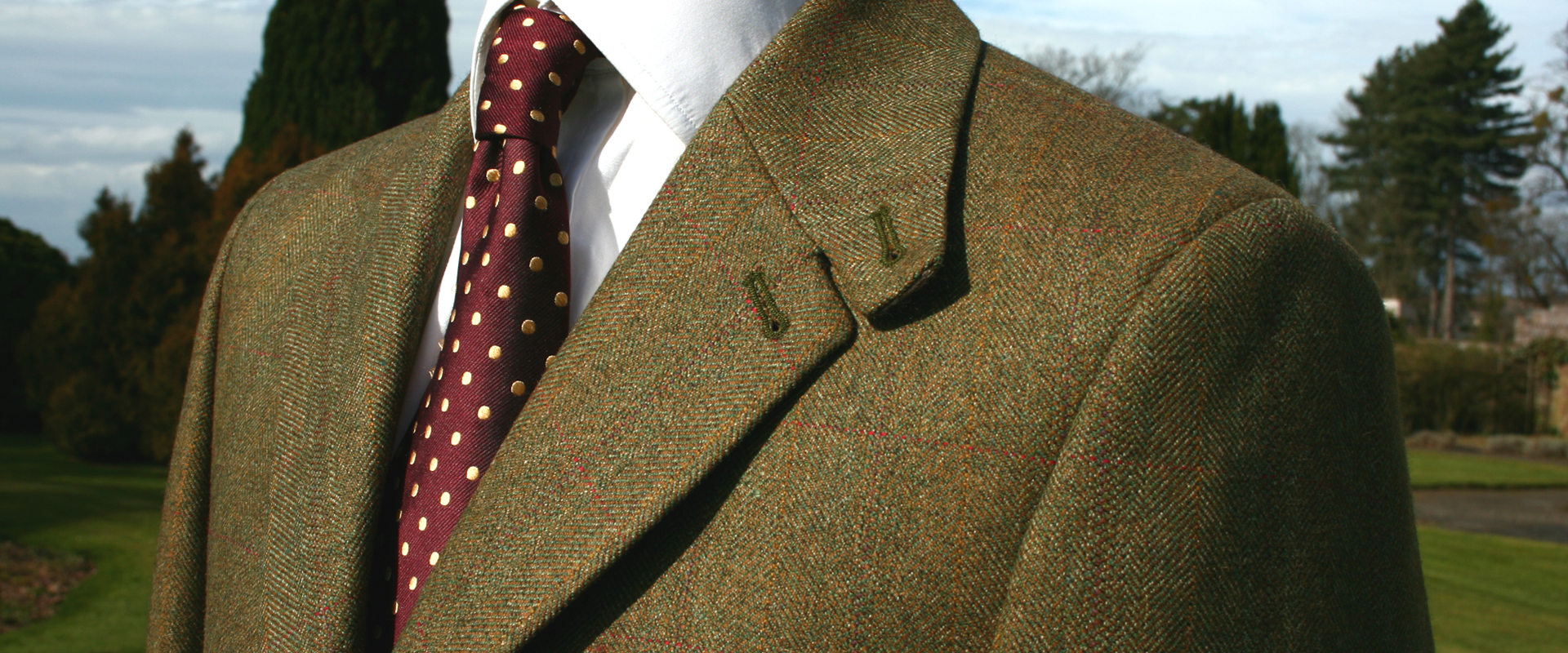 Glen Tweed Jacket