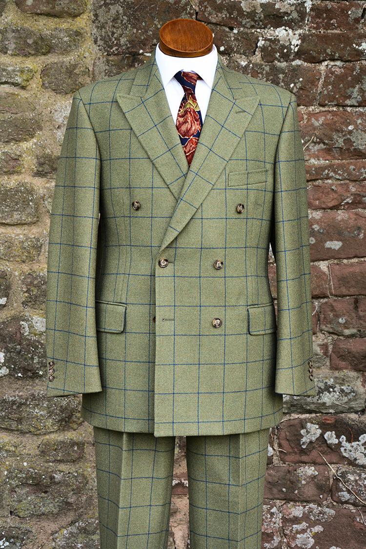 Double Breasted Grosvenor Tweed Suit
