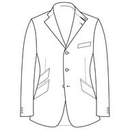 Made to Order Hacking Jacket - Tweed