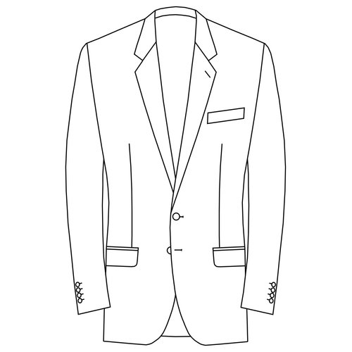 Made to Measure Single Breasted Classic Jacket - Tweed