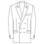 Made to Measure Double Breasted Classic Jacket - Tweed
