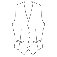 Made to Measure Single Breasted Waistcoat - Tweed