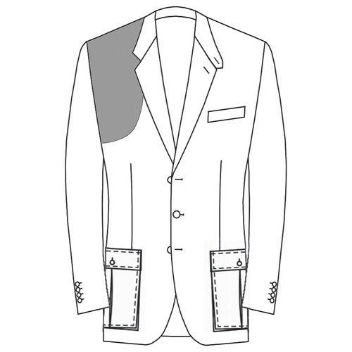 Made to Measure Shooting Jacket - Coating