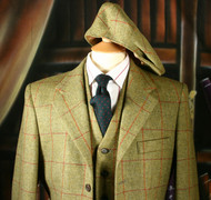 Carron Tweed Suit with Cap