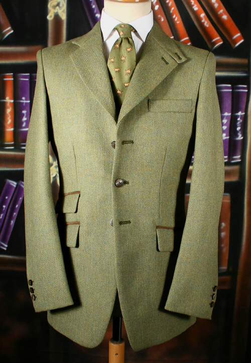 Plain Weave Country Hacking Jacket
