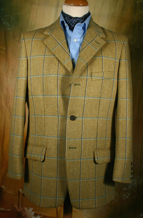 Ness Tweed Hacking Jacket