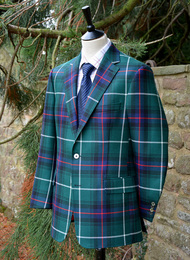 MacDonalald of the Isles Tartan Classic Jacket