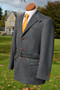 Grey Loden Wool/Alpaca Full Norfolk Jacket