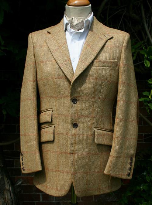 Dunrobin Tweed Hacking Jacket