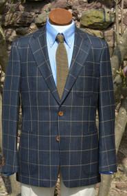 Dalzel Wool Silk Linen Classic Jacket