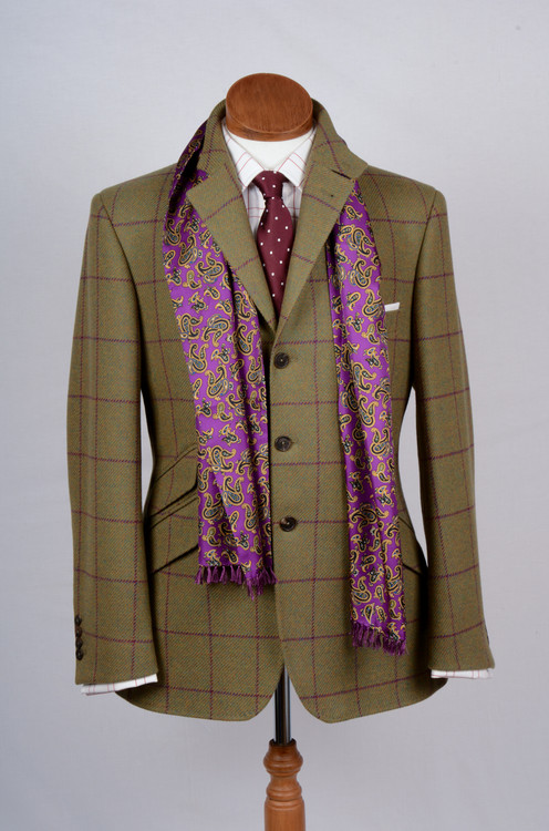 Thistle Tweed Hacking Jacket