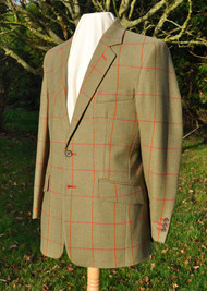 Bowie Tweed Hacking Jacket