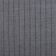 Grey Black 1.25 Chalk Stripe