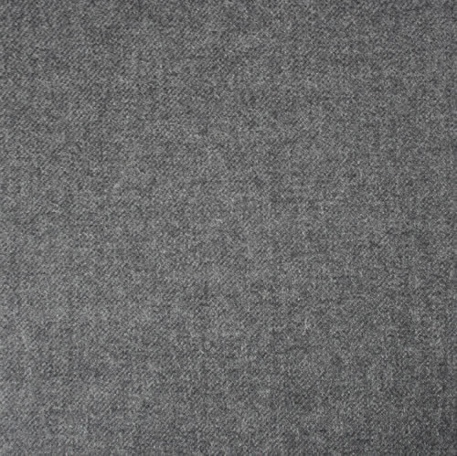 Soft Grey Wool Worsted