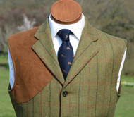 Duneagle Tweed Shooting Vest