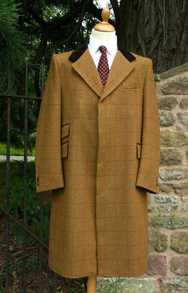 Murray Tweed Overcoat