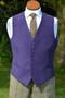 Purple Moleskin Waistcoat