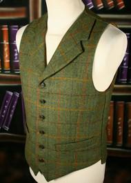 Cloth Back Waistcoat