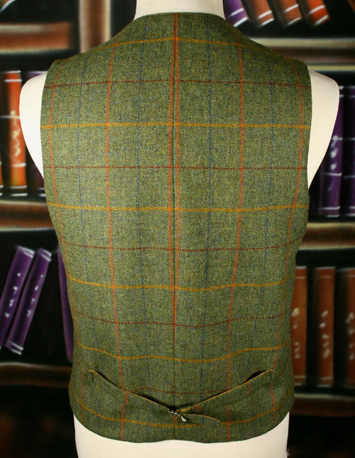 Cloth Back Waistcoat 1