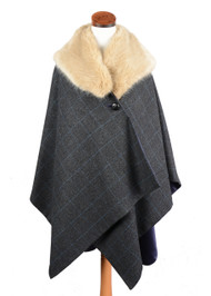 Women's  Tweed Cape