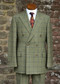 Grosvenor Double Breasted Tweed Suit