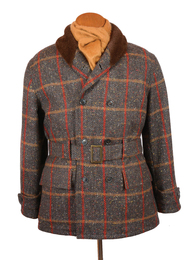 Mens Bookster Donegal Tweed Mackinaw Jacket