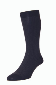 Pantherella Fabian Black Sock