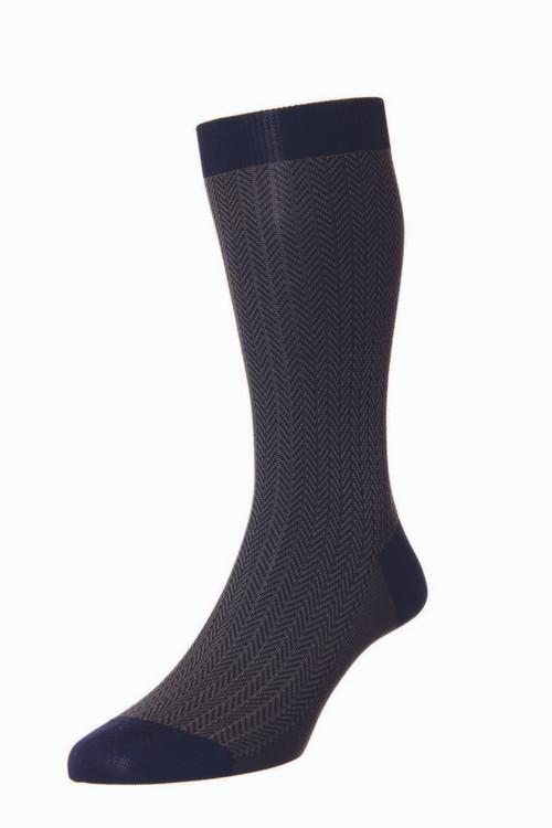 Pantherella Fabian Socks Navy