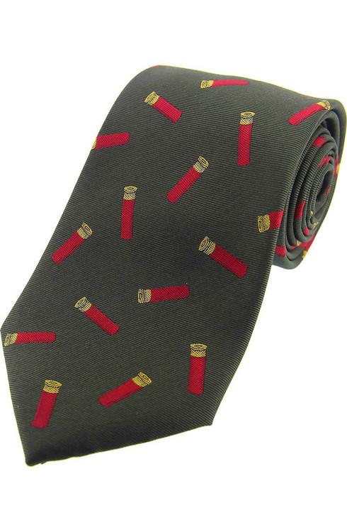 Gun Cartridges Silk Tie