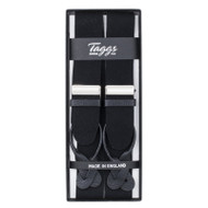 Black Boxcloth Braces