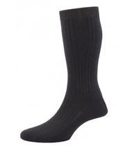 Pantherella Hemingway Socks - Dark Chocolate