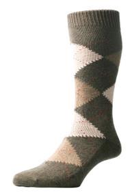Pantherella Racton Argyle Socks