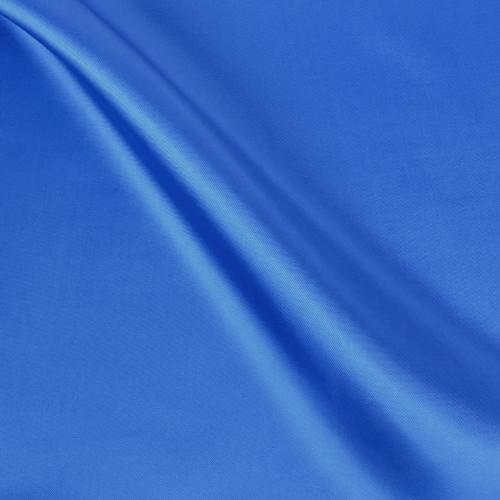 Blue Viscose Twill