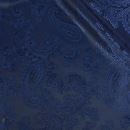 Victorian Navy 50/50 Acetate Viscose