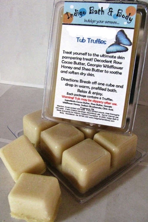 Cocoa & Shea Tub Truffle Deluxe - Green Tea & Coconut Milk