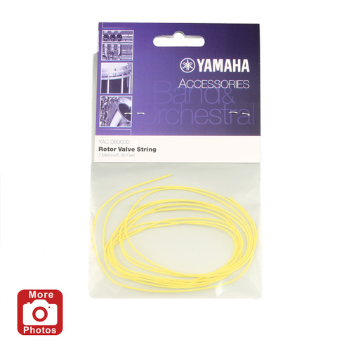 Yamaha YAC-080000 Rotor Valve String; 6.56 feet; Yellow