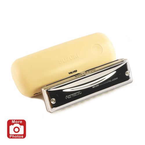 Suzuki Promaster Valved Harmonica, Key of Bb