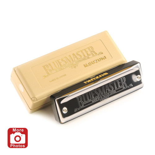 Suzuki Bluesmaster Harmonica, Key of D