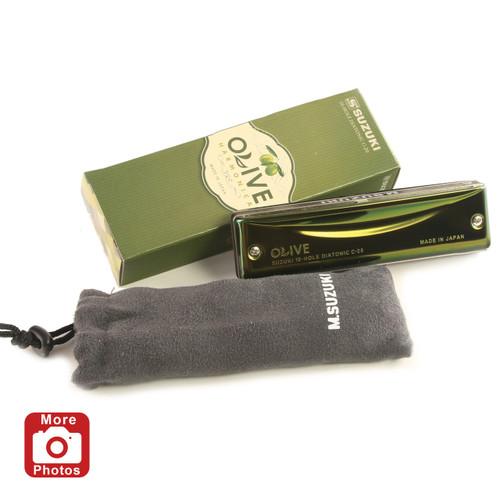 Suzuki Olive Harmonica, Key of C