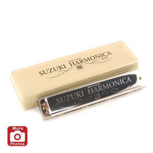 Suzuki 2Timer21 Harmonica, Key of C