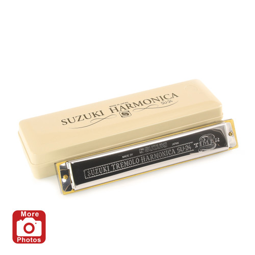 Suzuki 2Timer24 Harmonica, Key of A
