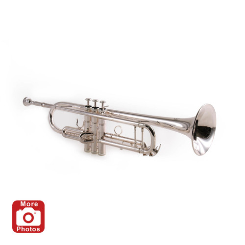 Legacy TR750S Silver Plated Intermediate Trumpet