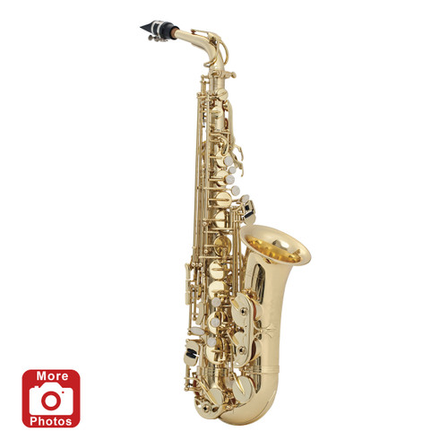 Selmer Prelude AS711 Student Alto Saxophone with Legacy Care Kit