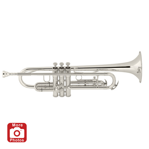 Prelude Bach Silver Trumpet TR710S with Legacy Care Kit