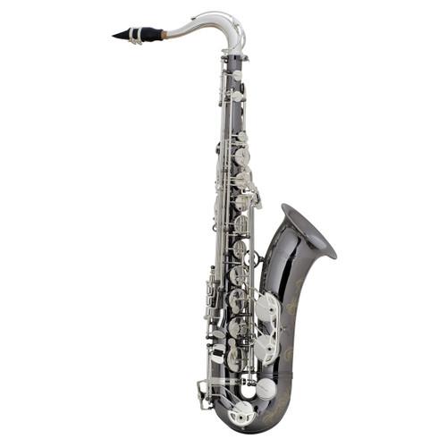 Selmer Professional Model 44 Tenor Saxophone, Black Nickel, Silver Plated Keys