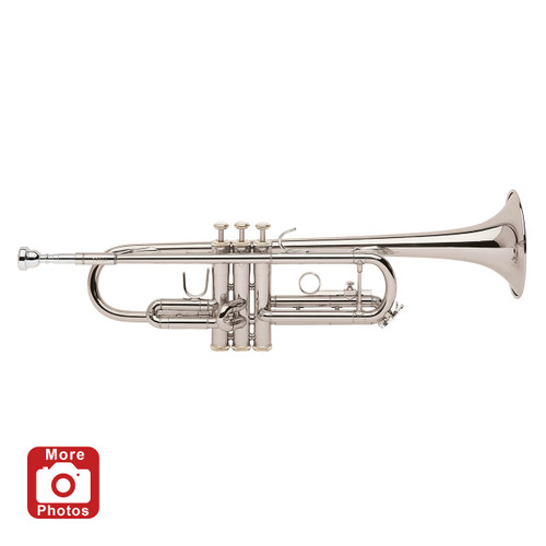 Bach Student Model TR300H2S Bb Trumpet, Silver Plated