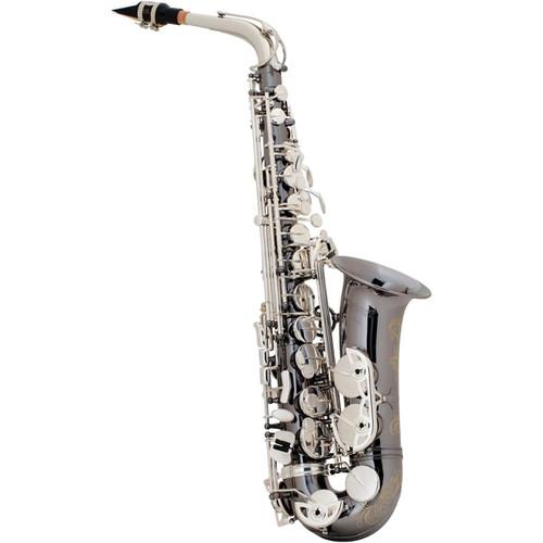 Selmer Professional Model AS42 Eb Alto Saxophone Black Nickel Silver Plated Keys