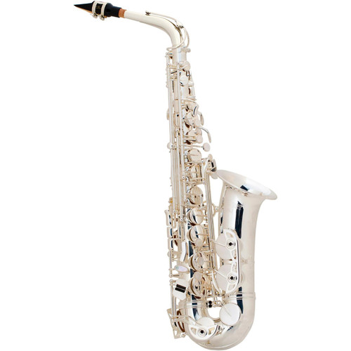 Selmer Professional Model AS42 Eb Alto Saxophone, Silver Plated